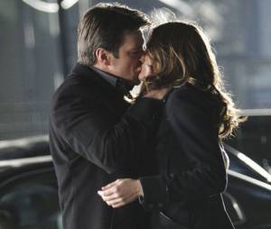 Castle saison 3 : premier baiser pour Rick et Kate