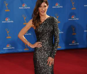 Jennifer Carpenter glamour aux Emmy Awards 2010
