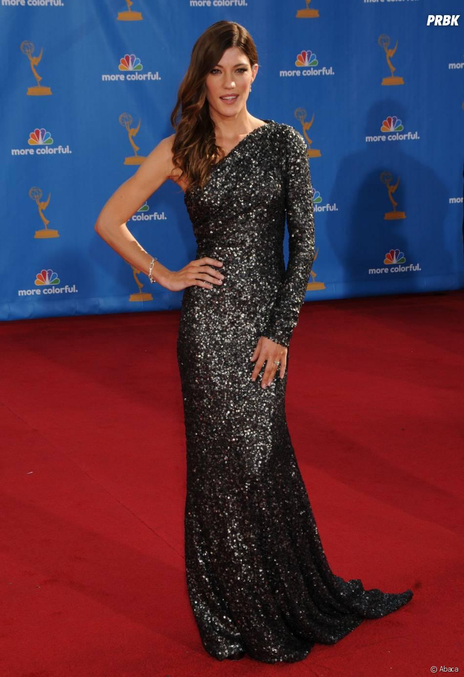 Jennifer Carpenter glamour aux Emmy Awards 2010