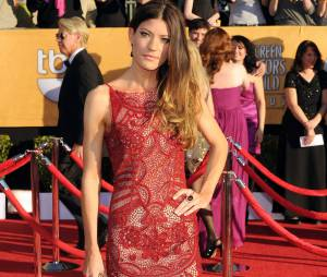 Jennifer Carpenter en solo aux SAG Awards 2012