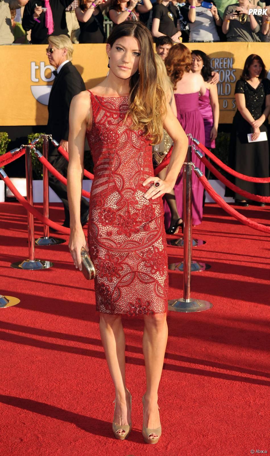 Jennifer Carpenter en solo aux SAG Awards 2012