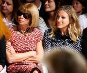 Sarah Jessica Parker et Anna Wintour, amies de longue date