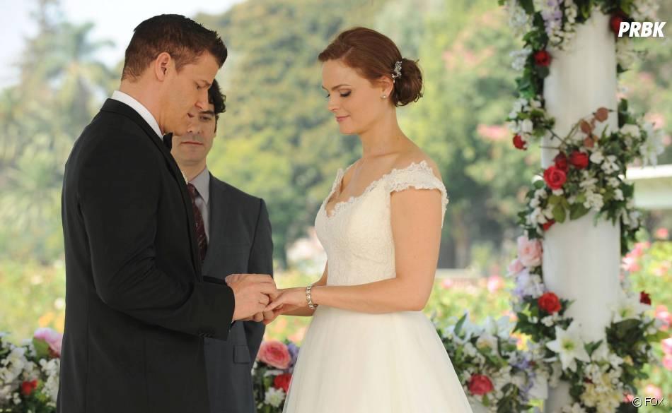 Bones saison 9, épisode 6 : Booth et Brennan se passent la bague au doigt