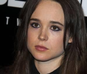 Ellen Pageà la soirée de lancement du jeu Beyond Two Souls le 2 octobre 2013
