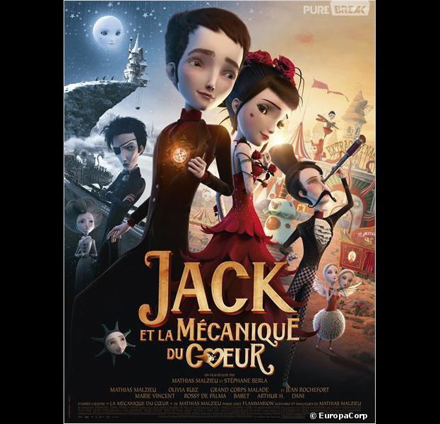 Notre sélection ciné jeunesse :Jack et la Mécanique du Coeur
