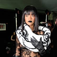 Rihanna sans soutif' mais avec de la fourrure : look osé pour le défilé Gaultier