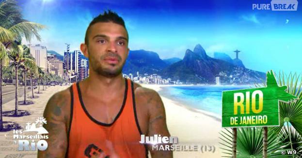 Les Marseillais à Rio : Julien champion des plus longues phrases du monde