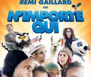Affiche du film N'importe Qui de Rémi Gaillard