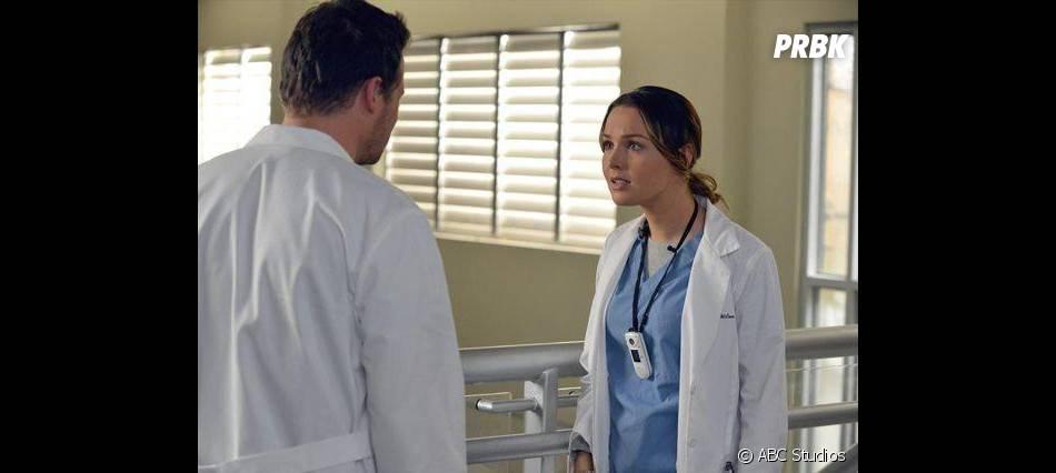 Grey's Anatomy saison 10 : Camilla Luddington et Justin Chambers dans l'épisode 14