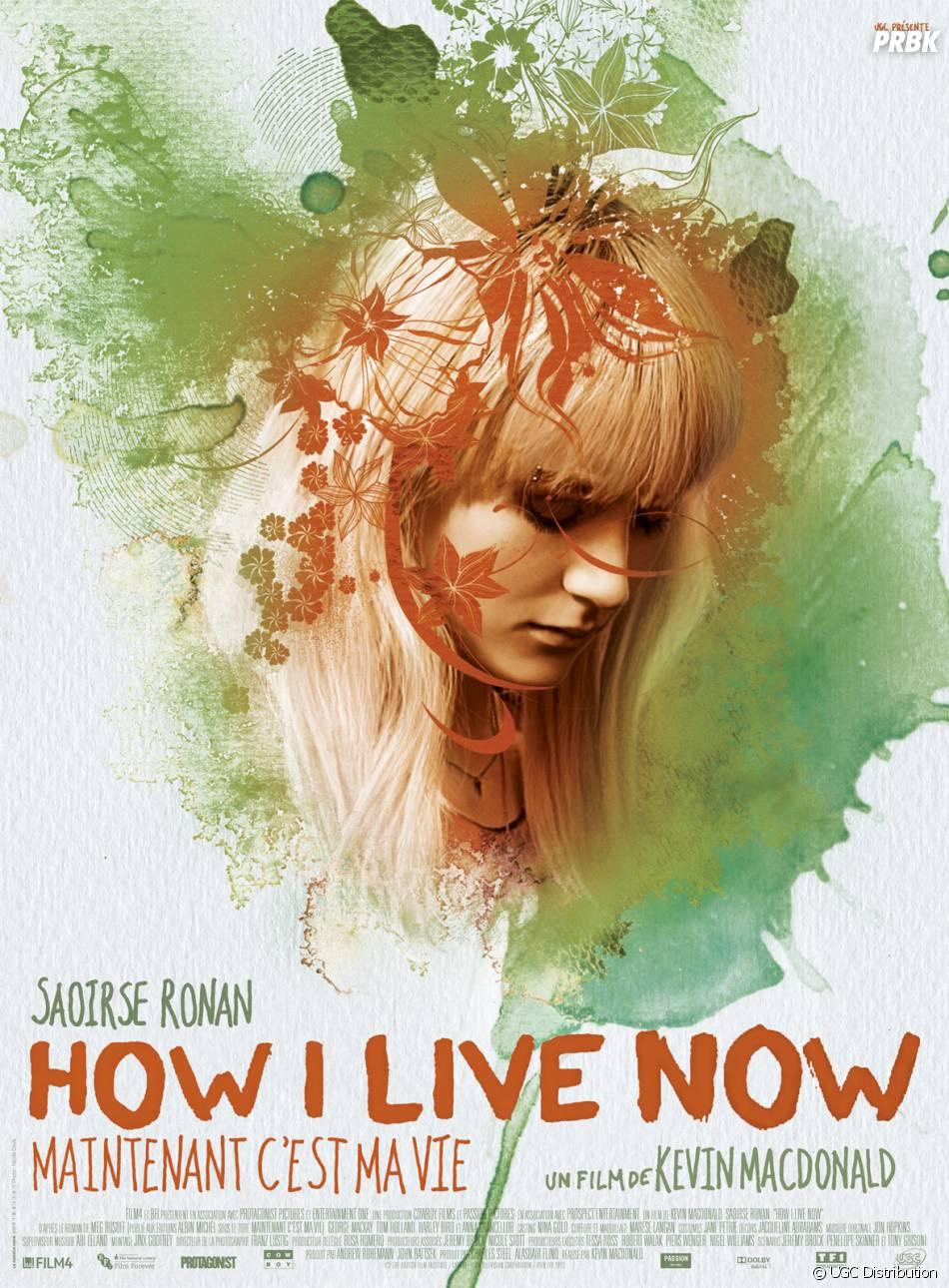How I Live Now (Maintenant, c'est ma vie) : affiche avec Saoirse Ronan