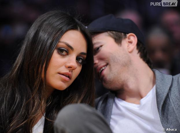 Ashton Kutcher et Mila Kunis : le couple n'est pas prêt de se marier
