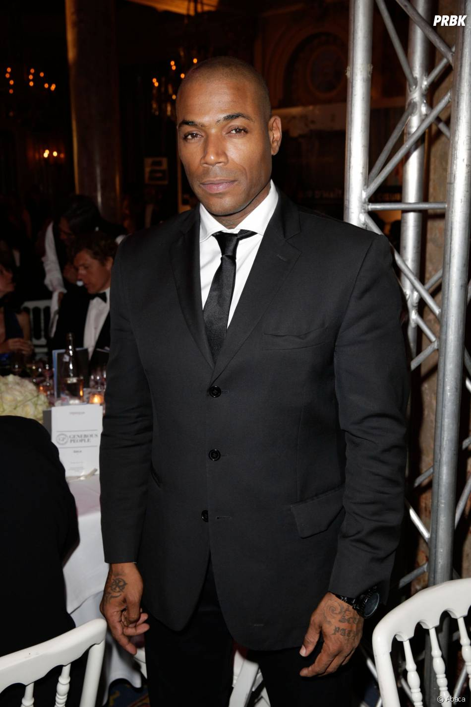 Lord Kossity a un gala de charité à Cannes, le 21 mai 2013