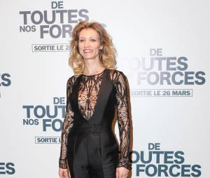 """Alexandra Lamy sexy à l'avant-première de """"De toutes nos forces"""", le 17 mars 2014 à Paris"""