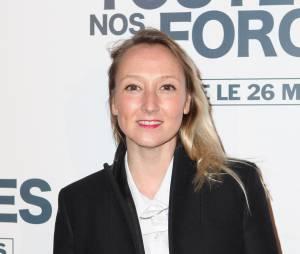 """Audrey Lamy soutient sa soeur à l'avant-première de """"De toutes nos forces"""", le 17 mars 2014 à Paris"""