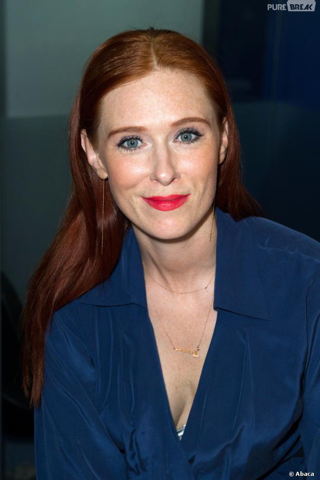 Audrey Fleurot pendant le Printemps du Cinéma 2014 à la Défense