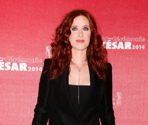 Audrey Fleurot sur le tapis rouge des César 2014
