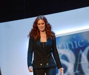 Audrey Fleurot sur la scène des César 2014