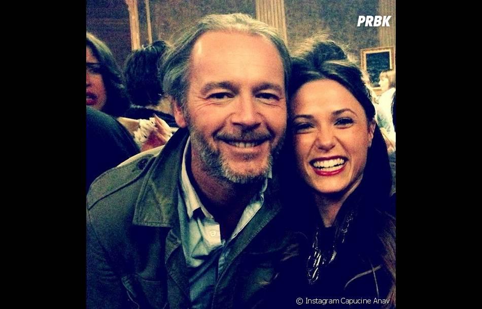 Capucine Anav pose avec Jean-Michel Maire de TPMP sur Instagram