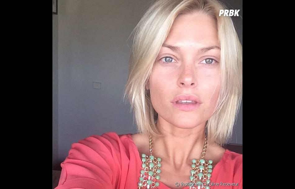 Caroline Receveur : son selfie sans maquillage sur Instagram