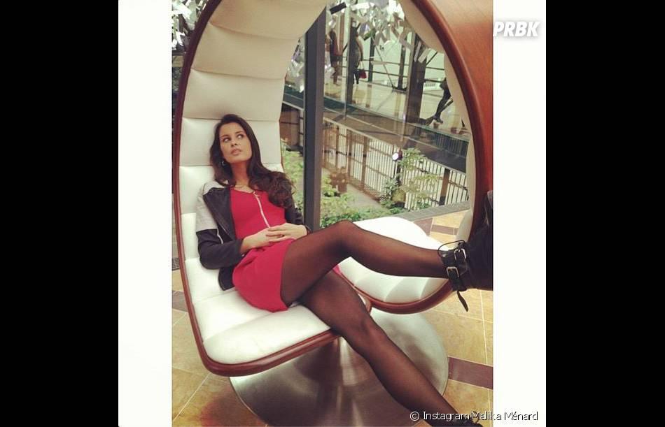Malika Ménard, petite pause et pose sexy sur Instagram entre deux tournages