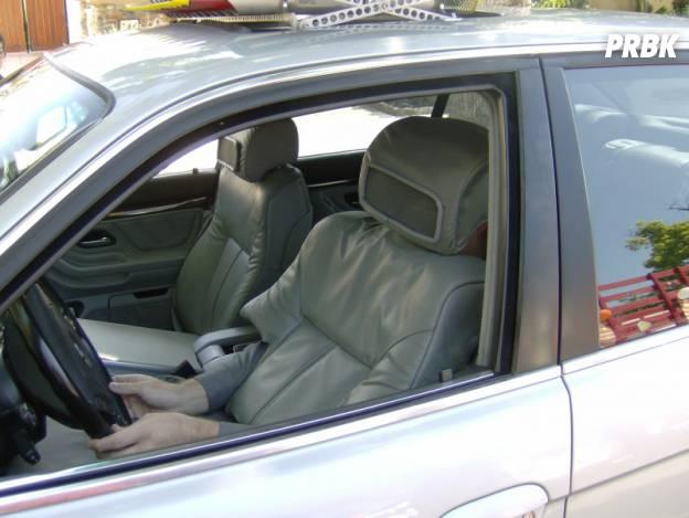 Déguisement siège de voiture