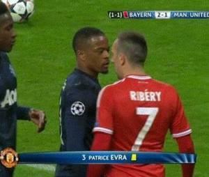 Clash entre Ribéry et Evra ?