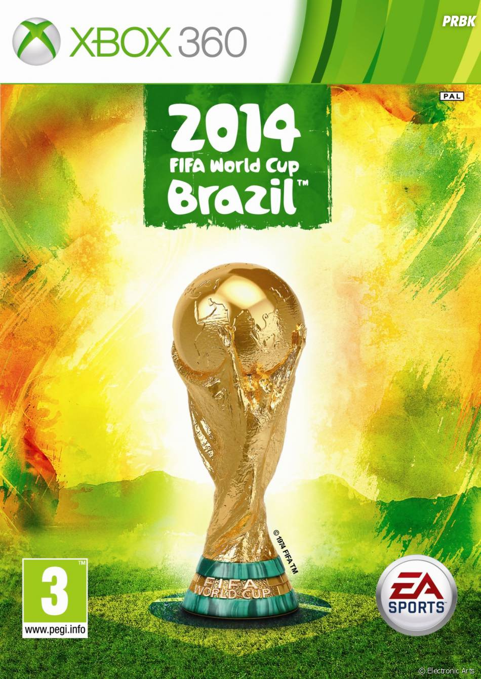Coupe du Monde de la FIFA : Brésil 2014 : la jaquette de la version Xbox 360