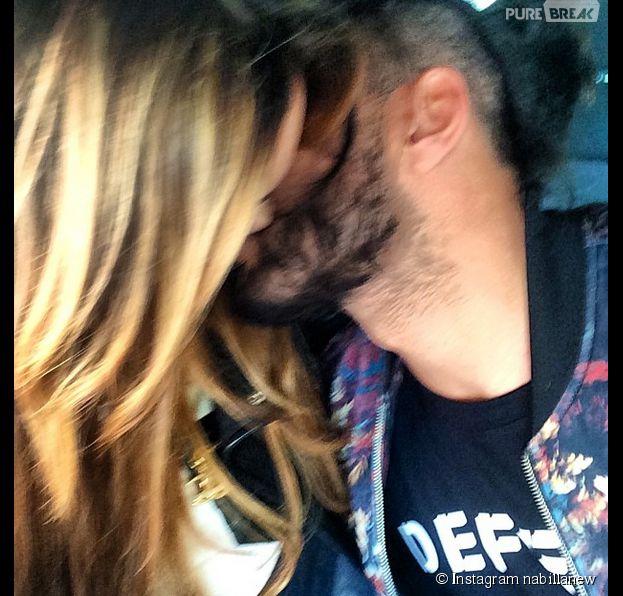 Nabilla Benattia et Thomas Vergara en mode bisou sur Twitter
