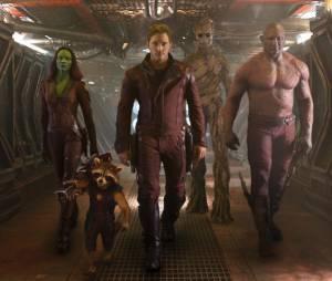 Les Gardiens de la Galaxie, 3ème des films qui font le plus parler