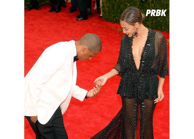 Beyoncé et Jay Z : fausse demande en mariage au Met Gala 2014