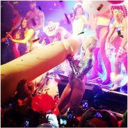 Miley Cyrus : nouvelle provoc' classée X avec un pénis gonflable géant