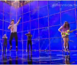 Eurovision : Twin Twin chante Moustache