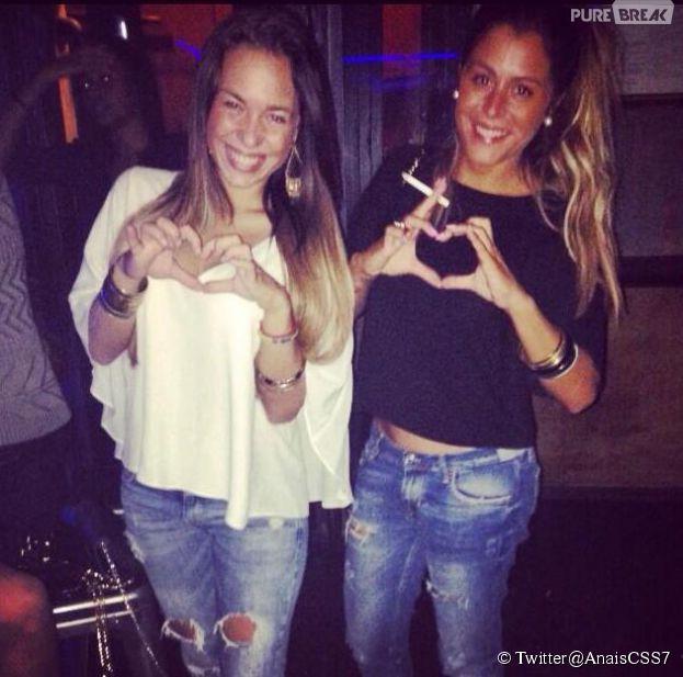 Anaïs Camizuli amie avec Stéphanie des Marseillais à Rio