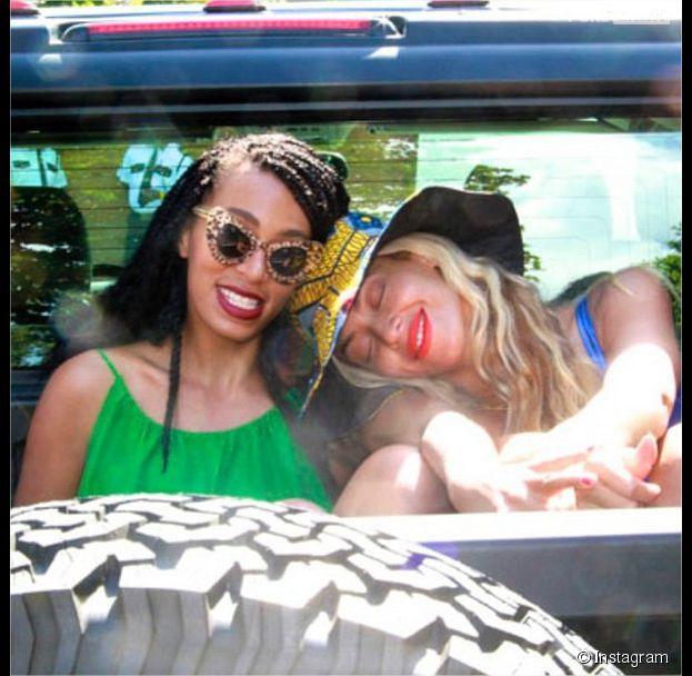 Beyoncé et Solange Knowles : deux soeurs complices sur Instagram après le fight entre Jay Z et Solange