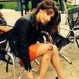 """Laury Thilleman en sang sur Instagram pour ses débuts d'actrice dans """"Alice Nevers : le juge est une femme"""""""