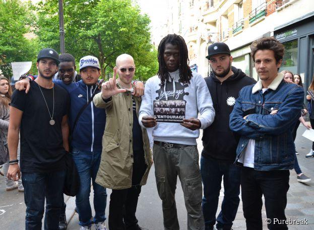 """L'Entourage : l'album """"Jeunes Entrepreneurs"""" dans les bacs le 26 mai 2014"""