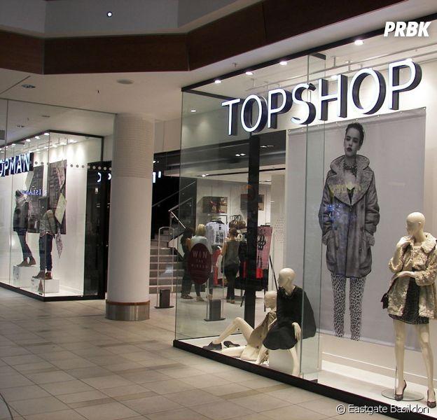 Topshop : la marque made in UK ouvre un corner permanent au BHV Marais à Paris dès le 4 juin 2014