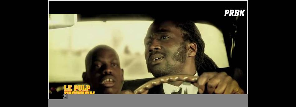 Noom Diawara dans Pulp Fiction version Le Before