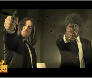 Black M et Thomas Thouroude dans Le Pulp Fiction du Before