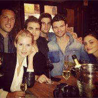 The Vampire Diaries : Paul Wesley et les autres à Paris, Nina Dobrev à Monaco