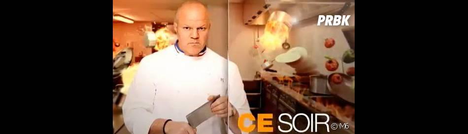 Cauchemar en cuisine : Philippe Etchebest confirme avoir recours à de faux clients sur M6