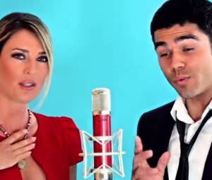 Eve Angeli en duo avec un candidat de The Voice 3