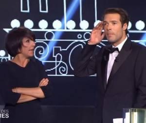 Florence Foresti : sa déclaration d'amour folle à Nicolas Bedos lors des Molières 2014, le 2 mai 2014