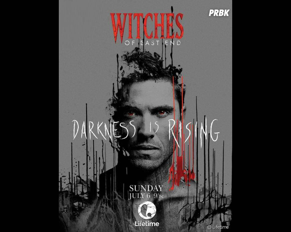 Witches of East End saison 2 : Eric Winter sur un poster