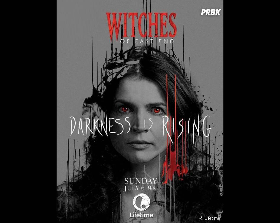 Witches of East End saison 2 : Julia Ormond sur un poster