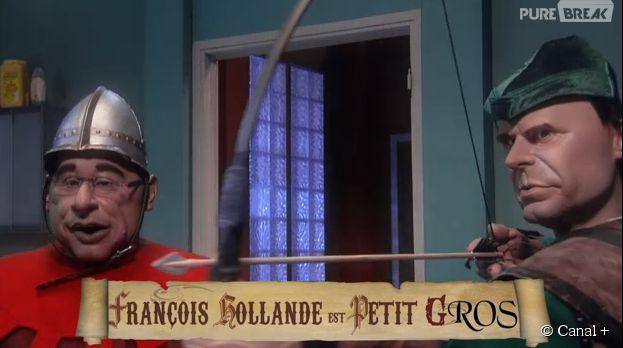 François Hollande dans la parodie de Robin des bois ~ Parodie Robin Des Bois