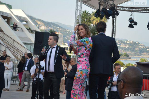 Danse avec les Stars : Chris Marques et Sandrine Quétier au Festival de Monte Carlo le 8 juin 2014