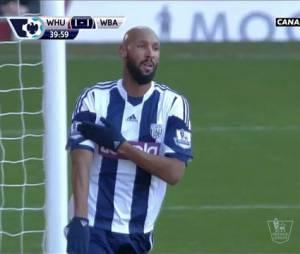 Nicolas Anelka : condamné à cinq matchs de suspension par la Fédération Anglaise après sa quenelle du 28 décembre 2013