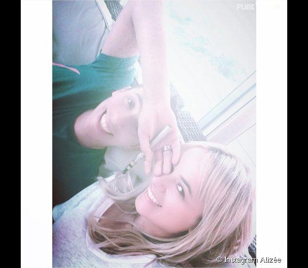 Alizée et Grégoire Lyonnet complices sur Instagram