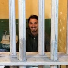 Zlatan Ibrahimovic en prison... ou presque